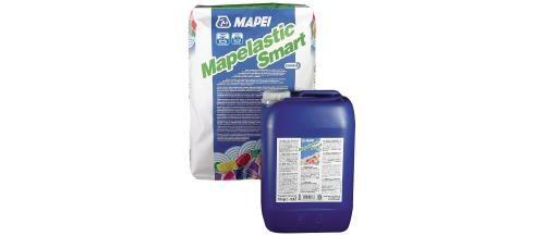 Argamassa Cimentícia Bicomponente Elástica para Impermeabilização Mapei Mapelastic Smart