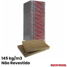Lã de Rocha Painel Não Revestido RockWool Monorock 365 (145 kg/m3)