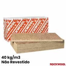 Lã de Rocha Isolamento Painel Não Revestido Rockwool Lusorock 212 (40 kg/m3)