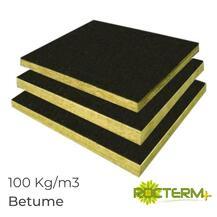 Lã de Rocha Isolamento Painel Revestido a Betume Rocterm Coberlan B 50 (150 kg/m3)