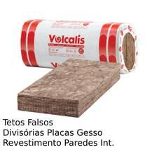 Lã Mineral Painel Não Revestido Volcalis Comfort