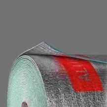 Manta de Espuma de Polietileno Não Reticulado Revestido a Alumínio nas 2 Faces ALUFACE