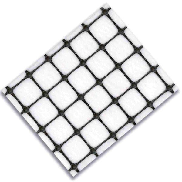 Geogrelha Tensar Biaxial SS-GD com Geotêxtil - SSLA20-GD - 50 x 3,8 m