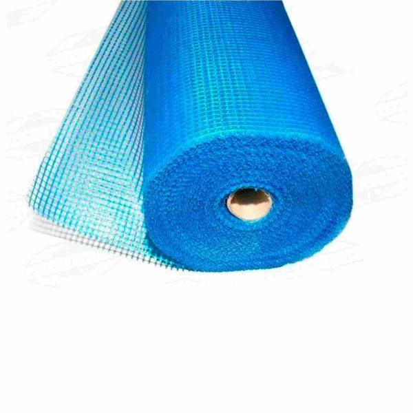Rede Fibra de Vidro, Armadura de Reforço Mapelastic,Sistema Etics/Capoto Mapetherm Mapei Mapenet P - Azul - 50 x 1 m