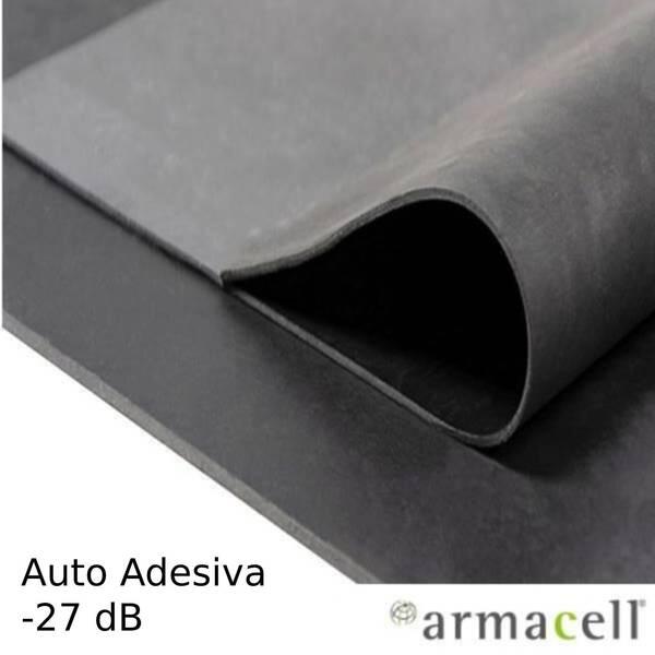 Barreira Acústica Auto-Adesiva ArmaComfort Barrier B AO-BAR-B-02-A 27 dB - Preto - 2 m x 1 m x 2 mm (AO-BAR-B-02-A)